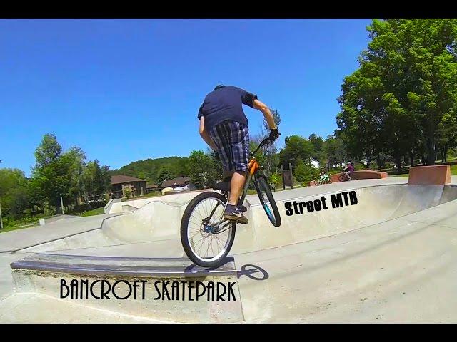 Bancroft Skatepark Street MTB mini-edit