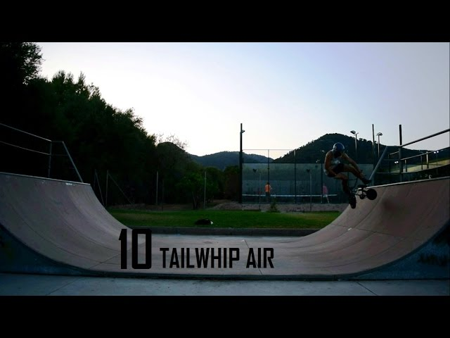 TEN TAILWHIPS AIR on a MINI BMX