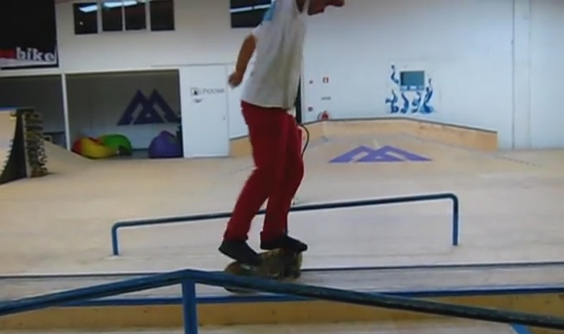 my second skate video at the new indoor skatepark