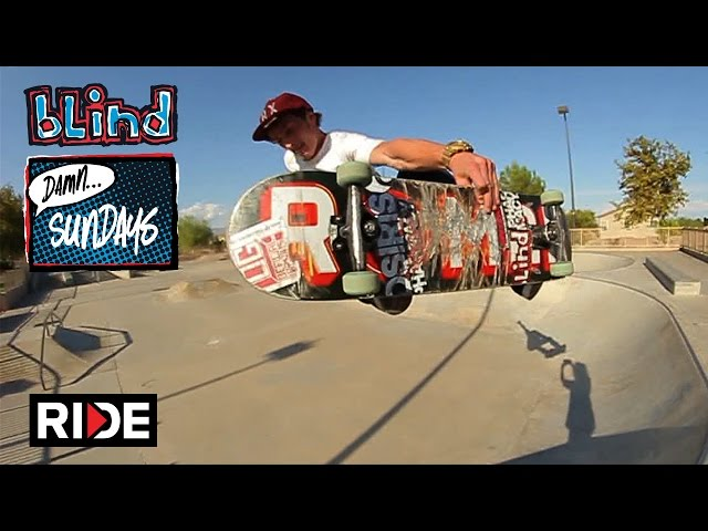 Jason Thurtle - Metro Skatepark - Blind Sundays