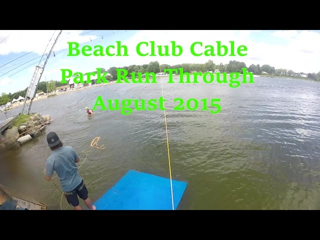 Beach Club Park Run Through August 2015