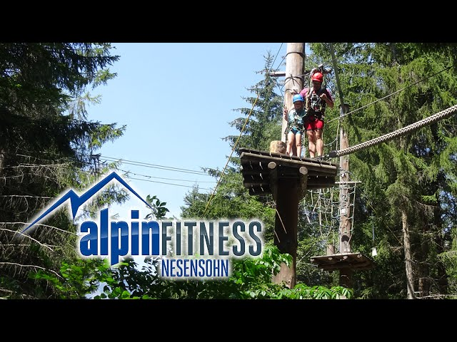 Climbing forest GOLM - ropes course Montafon