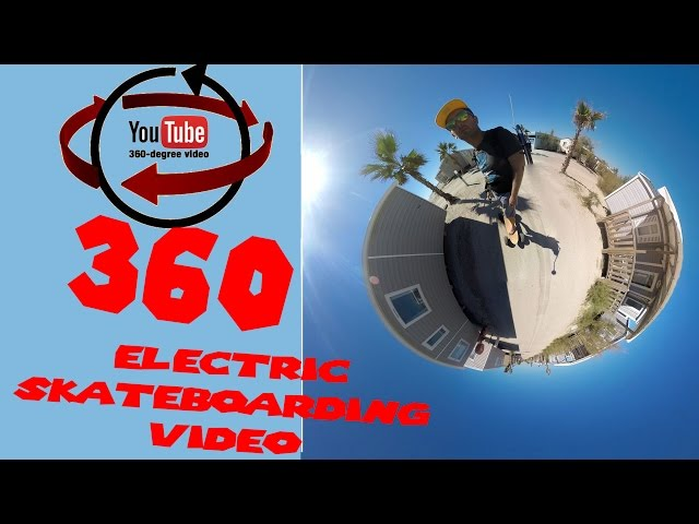 360 Electric Skateboarding Video