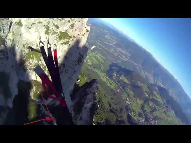 Parachuting the Alpes