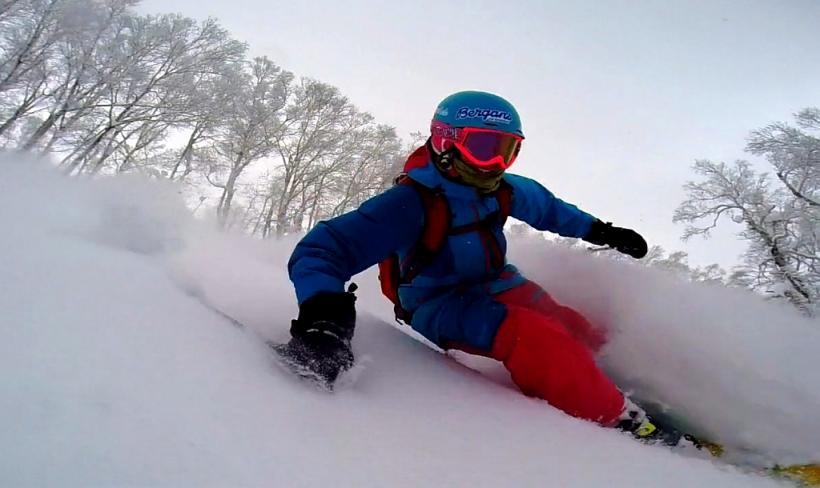 My Edit - Skiing Pow