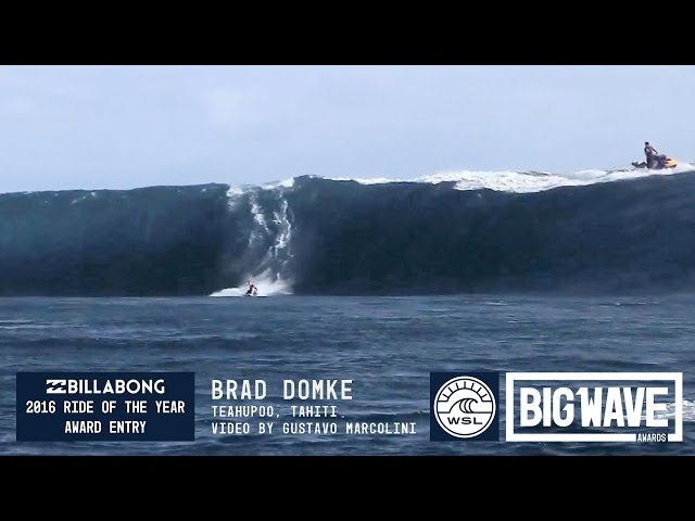 Brad Domke Skimboards Teahupoo