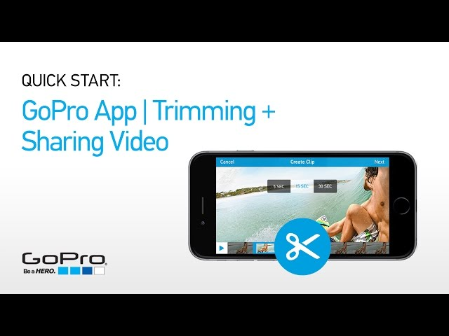 GoPro Launches New Trimming And Sharing Features