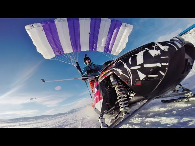 Flying Snowmobile