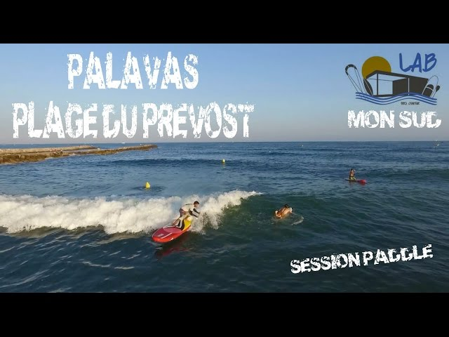 SUP Session Palavas - drone view