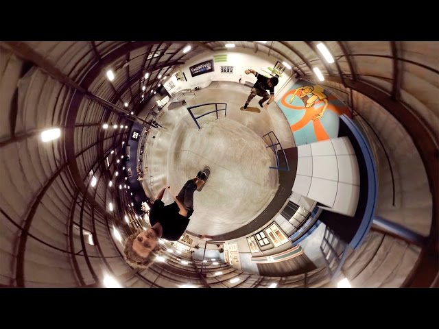 GoPro Spherical Skate Session at The Berrics