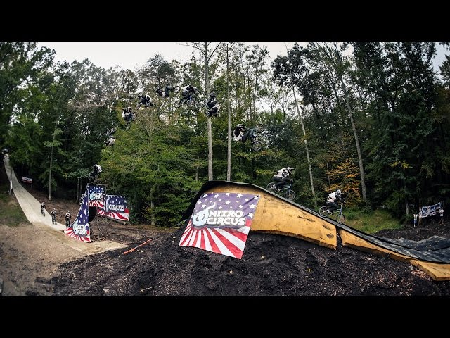 World First BMX Triple Front Flip - Nitro Circus