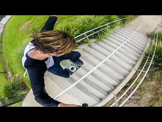 17 Stair Lipslide POV