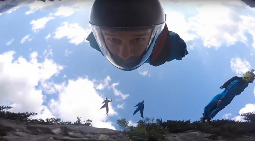 Basejump Gainer GoPro Awards Winner