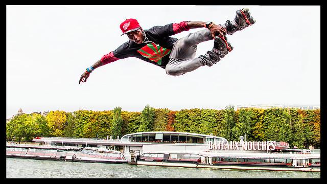 Diako Diaby  Rider flying (Rollerblading Agreesif