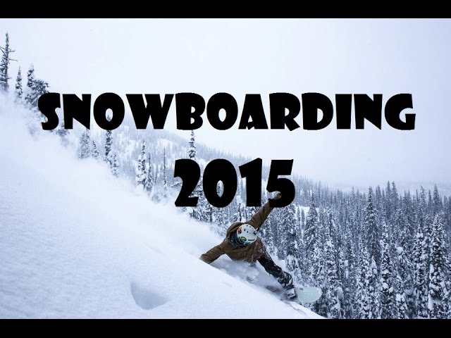 Snowboard season edit