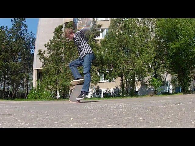 SKATEBOARDING TRICK 10: NOLLIE BS BIGSPIN HEELFLIP