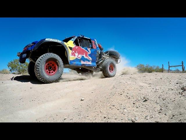 Bryce Menzies Baja 500 Shock Test