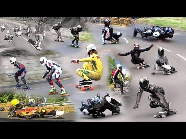 Championnat de descente - Show Bouill'En Roller Sk