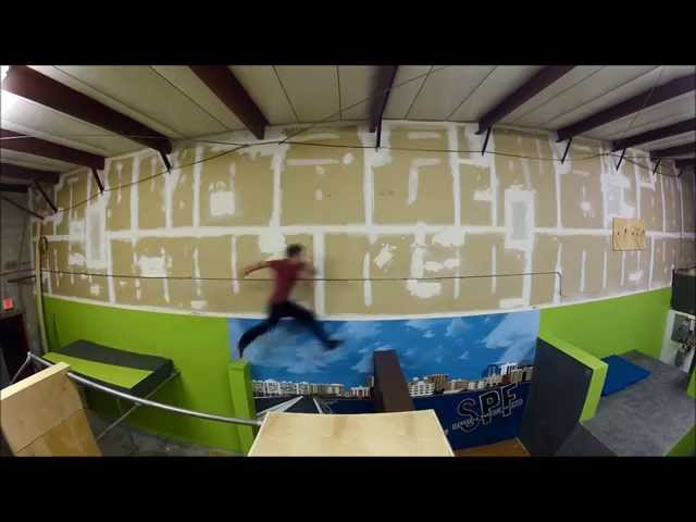 Freerunning In Florida : Nothing But Footprints :