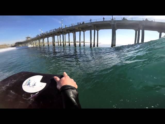 Bodyboarding POV HB Pier Northside | December 8 |