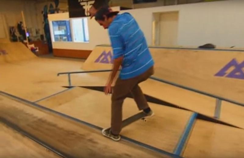 indoor skate video part (azores)