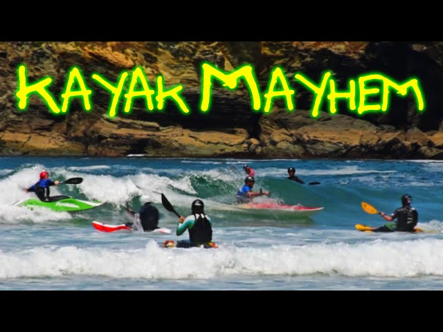Kayak MAYHEM - 40 Kayaks ONE Wave