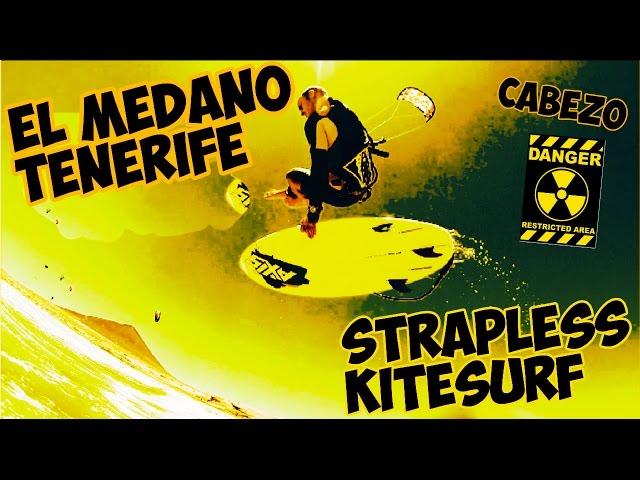 Strapless Kitesurfing _ El Medano