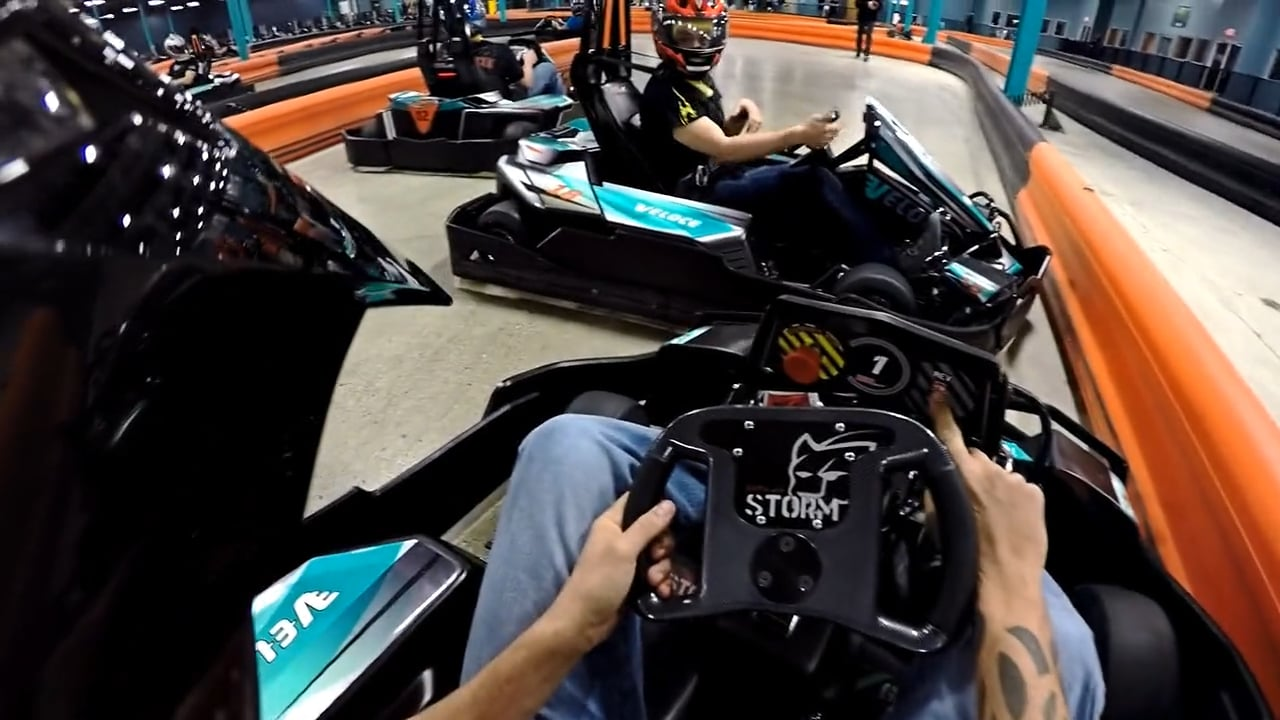 GoPro | Veloce Indoor Speedway