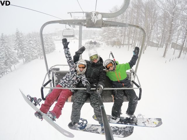 Powder trip to Japan with Cheryl & Sarka