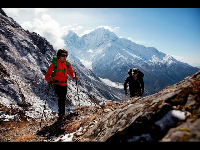 David Lama - High Spirits at Lunag Ri, Nepal