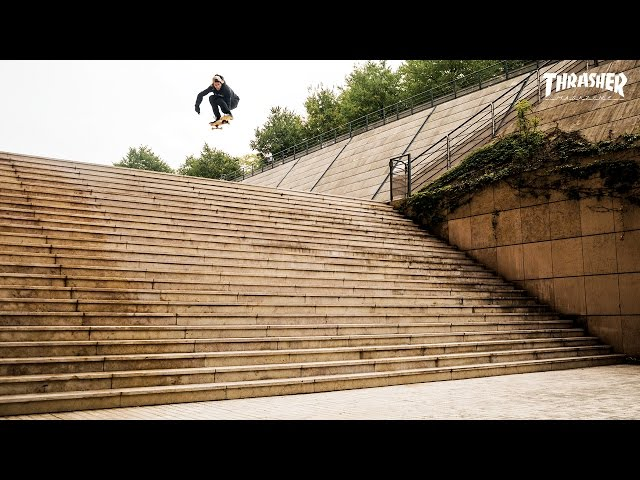 Aaron Homoki Lands Biggest Drop Ever At Lyon 25