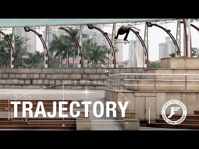 The Berrics Trajectory - Footprint Insoles