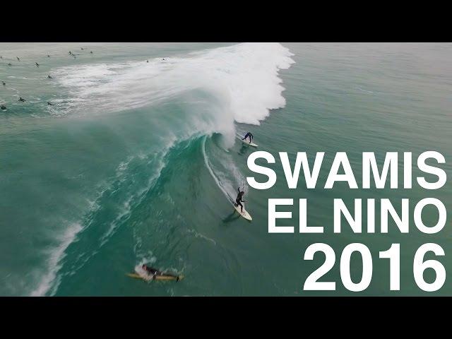 Swami's - 2016 El Nino [Drone Footage]