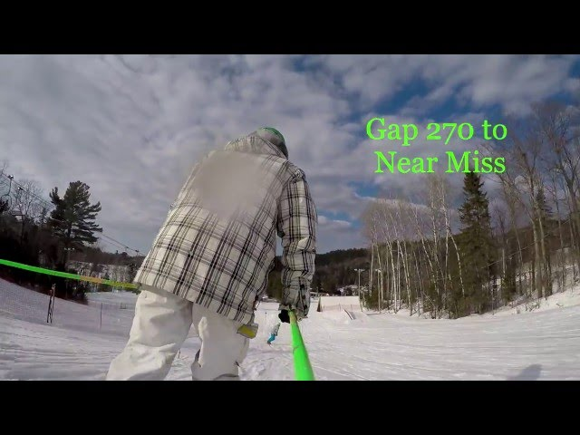 Gap 270 to Snowboarder Bonk