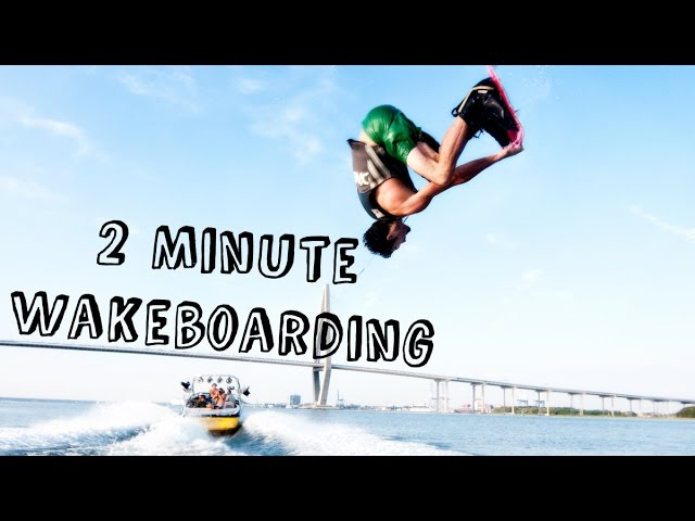 Best of Wakeboarding in 2 Minutes