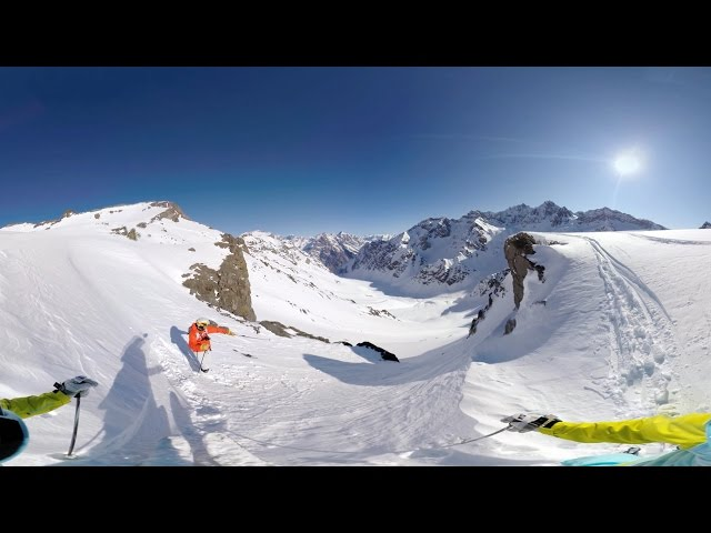 GoPro VR Skiing In Portillo