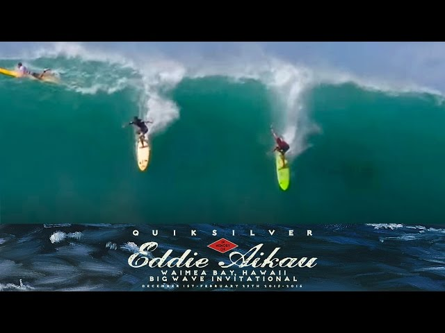 Top Waves At The Eddie 2016