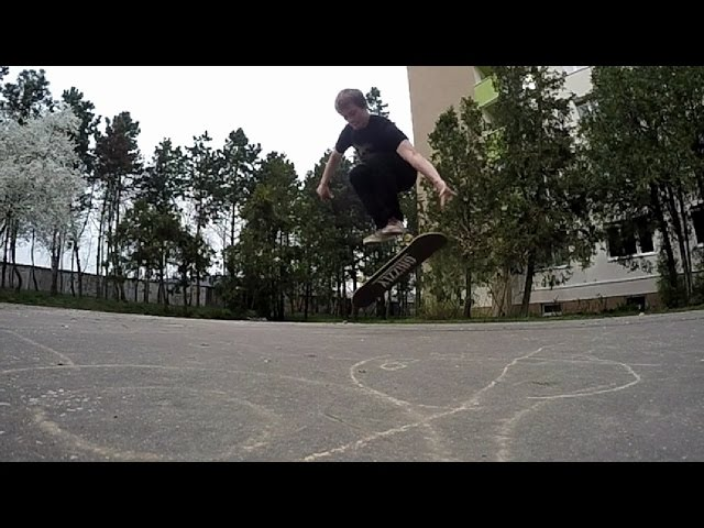 OLLIE FINGERFLIP SLOW MOTION 240 FPS