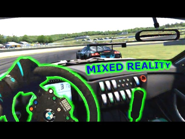 Mixed Reality Racing Simulator