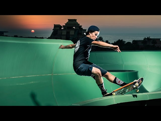 Red Bull Skateboarding At Dubai Waterpark