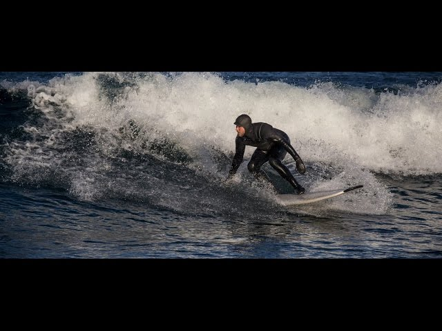 Surfing Lake Superior