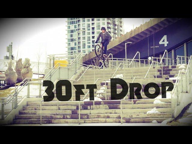Ottawa Street MTB | 30ft drop, Legacy Skatepark
