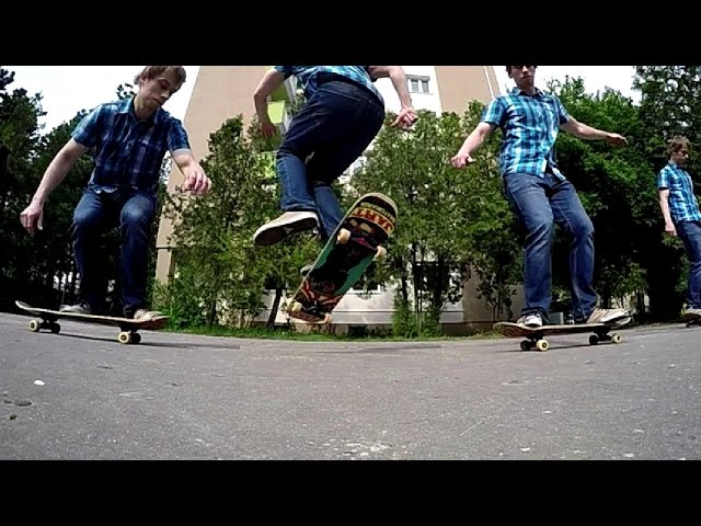 NOLLIE FS ANTI BIGSPIN SLOW MOTION 240 FPS