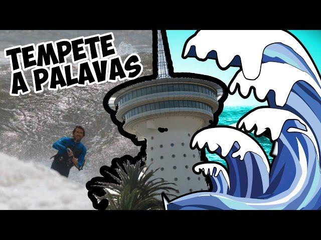 [KITESURF CLIP] ▶︎▷TEMPÊTE A PALAVAS-LES-FLOTS !