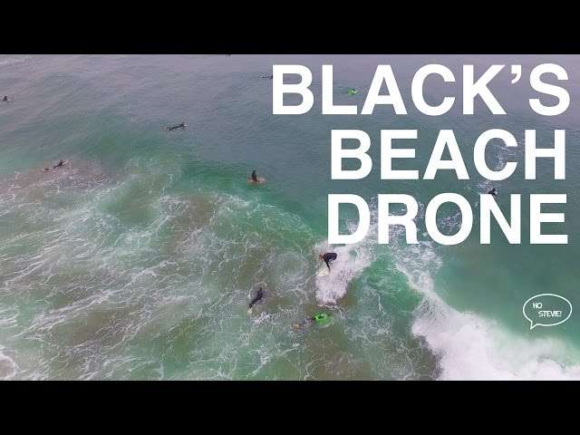 Black's Beach Surfing -1st Time Filming with Drone