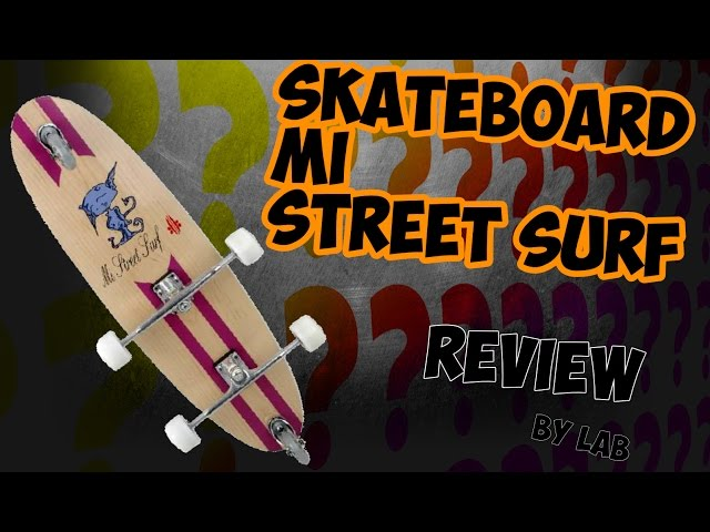 [REVIEW] ▶︎ SKATEBOARD ▶︎ DISCOVER THE MI STREET S