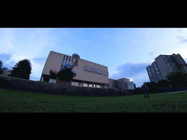 City Frisbee demo