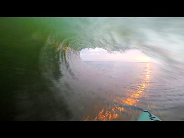 Benji Brand's Epic Namibian Sunset Barrel