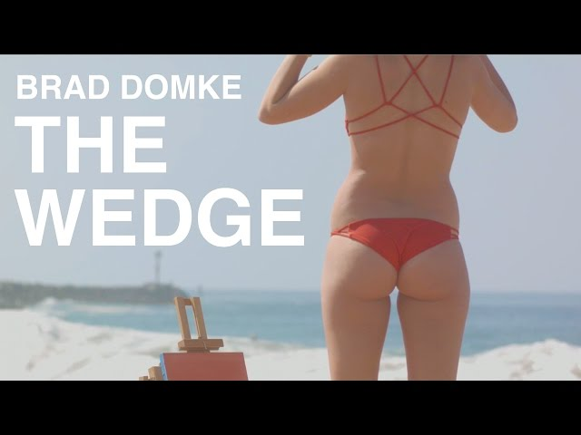Brad Domke Skims (and tries to surf) THE WEDGE