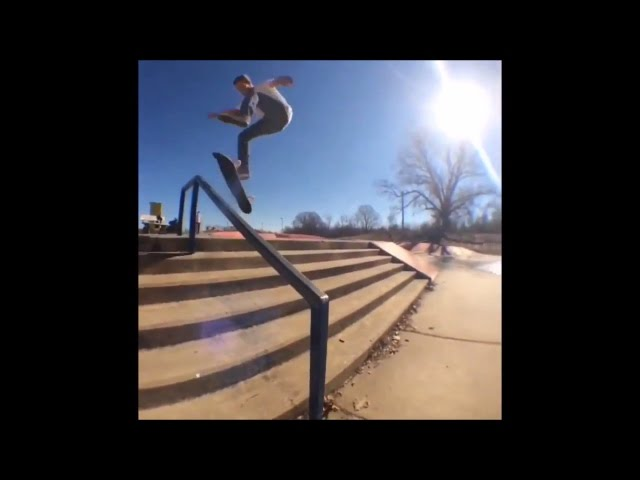 OK Skateboards sponsor me video contest, 2nd heat